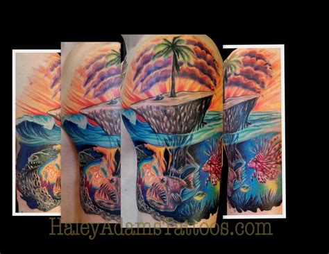 island tattoos tattoos part arm island and