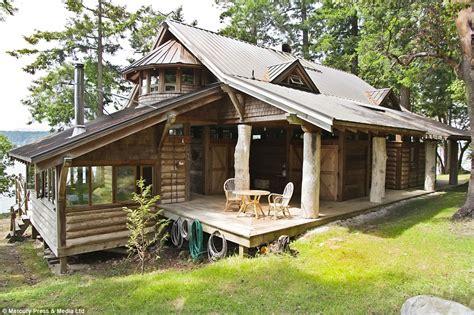 Remote Colorado Cabins For Sale by Mowgli Island In The Remote Southern Gulf Islands On Sale