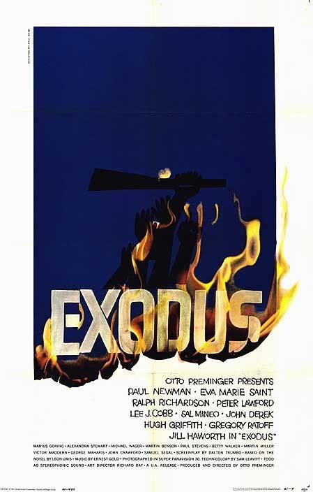 film exodus cast exodus 1960 film wikipedia