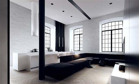 Loft Interior Design by Minimalist Loft In Lodz Loftenberg