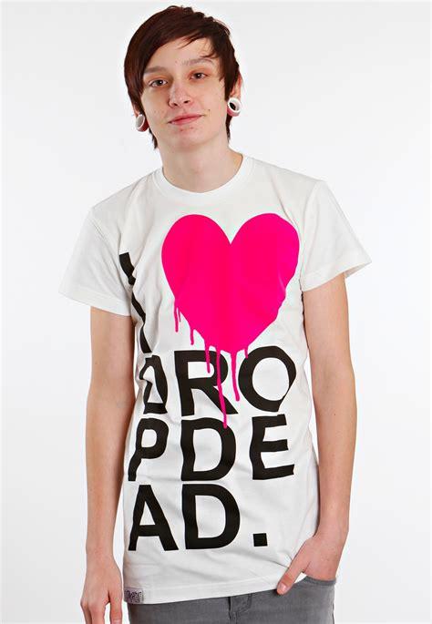 T Shirt Dropdead 1 drop dead i white t shirt impericon worldwide