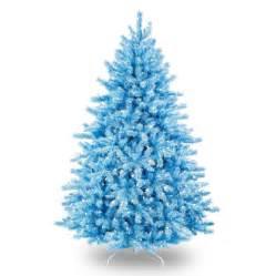 White christmas tree with blue decor blue christmas tree 2
