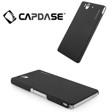 Jual Capdase Karapace Touch Cover Sony Xperia Z Ultra Xl39h capdase karapace touch for sony xperia z black