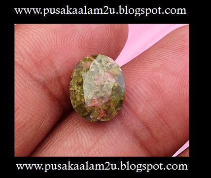 Batu Unakite pusaka alam ghaib dan mistik batu unakite diambil dari