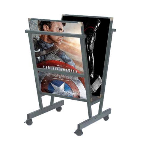 display rack for posters print display rack paint stand
