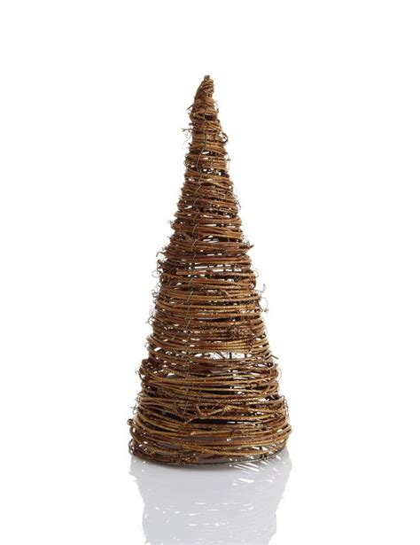 led cone tree lights led light up rattan effect cone tree room