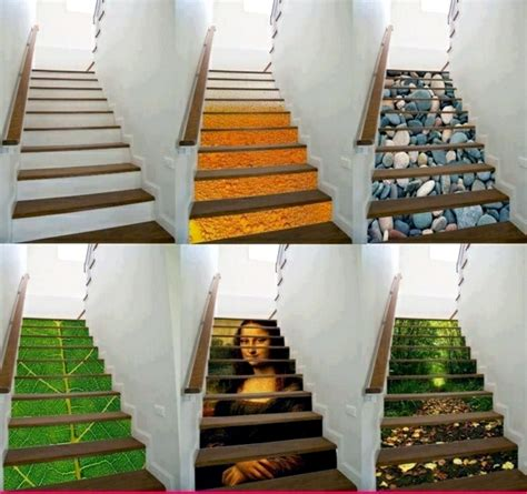 Decorating Ideas For Stairs The Staircase Decorating Ideas With Paint Leftover