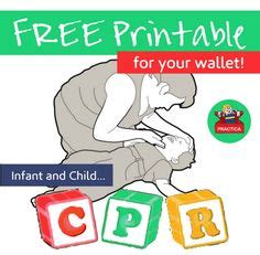 printable moby instructions infant cpr info sheet a must have on fridge in my house