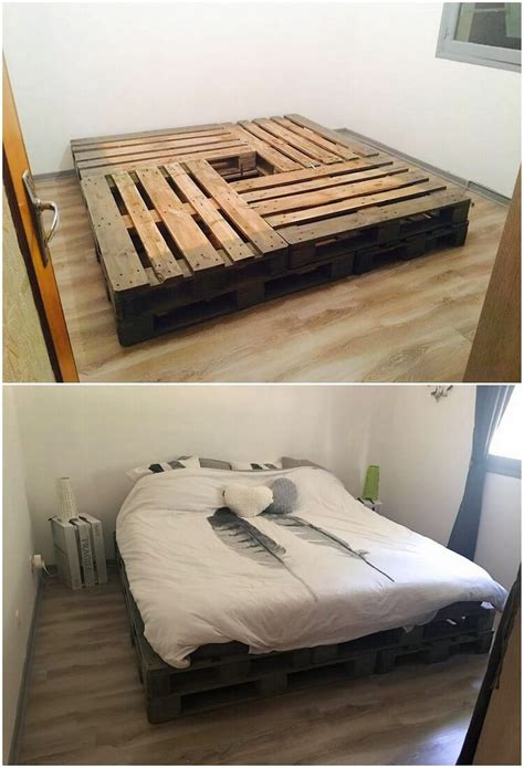 Cool Bed Frame Ideas Inexpensive Diy Wood Pallet Ideas And Projects Recycled Things