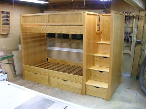 bunk bed plans bunk beds  stairs  dshute