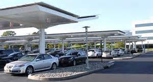 Parking Lot Solar Canopy by Solar Canopies