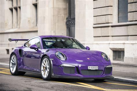 Ultraviolet Porsche 911 991 GT3 RS ? NVPhotography