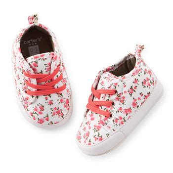 carters baby slippers s floral sneaker crib shoes carters
