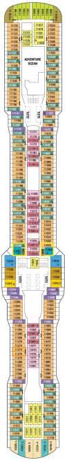 royal caribbean floor plan quantum of the seas deck plans cruisekings