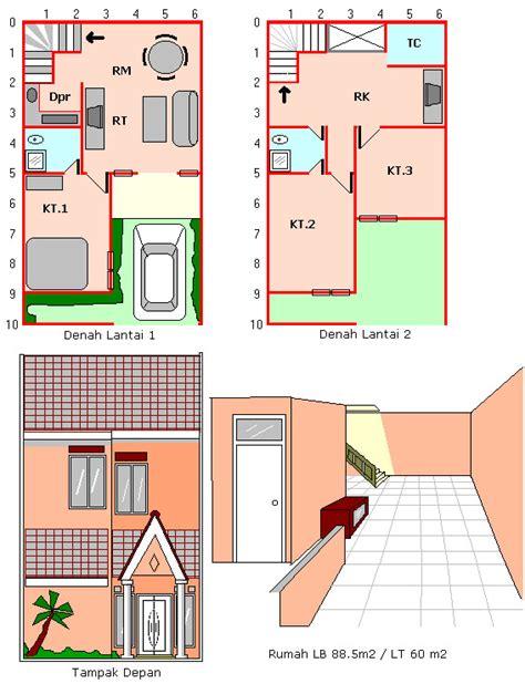 layout rumah 10 x 15 gambar rumah desain minimalis