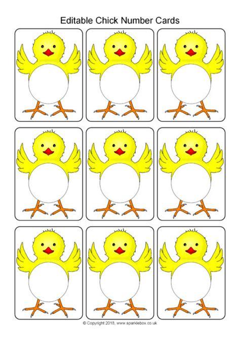 Flash Card Template Sparklebox by Editable Number Cards Template Sb12492 Sparklebox