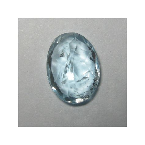 Topaz Biru batu permata topaz biru langit oval 1 50 carat