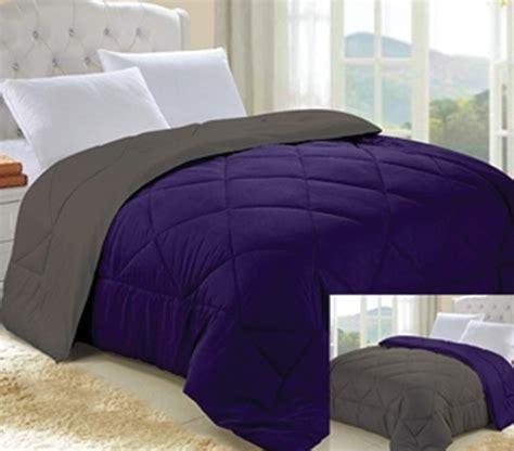 downtown comforter downtown purple granite gray reversible college comforter
