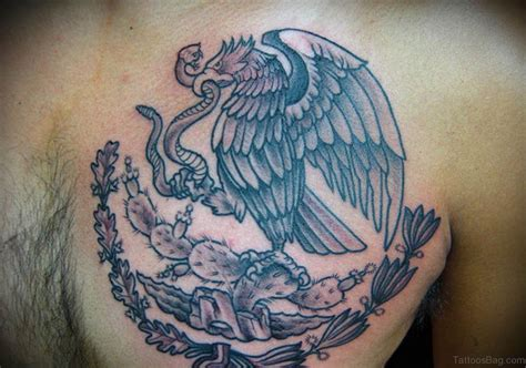 mexico tattoos 40 wonderful eagle tattoos design for chest