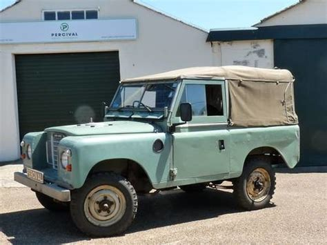 vintage land rover ad for sale land rover series 111 88 1983 classic