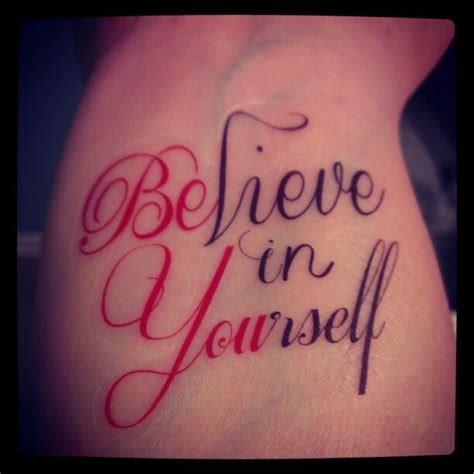 be yourself tattoo believe in yourself be you tatts