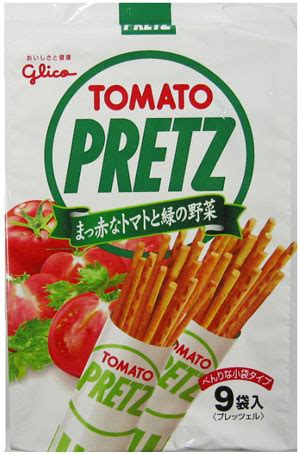 Glico Tomato Pretz tanesei trading glico tomato pretz fukuro