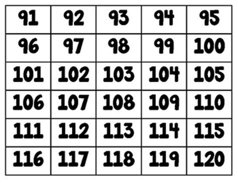 number cards   number tiles   flashcards manipulatives numbers