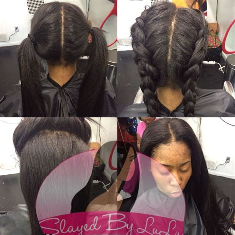 braiding short hair for sew in styling ideas for the vixen sew in http www