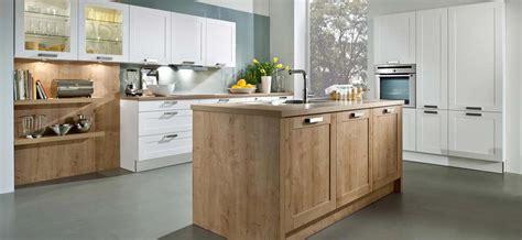 Bar Island Kitchen Satin White Amp Timber East Coast Finishing