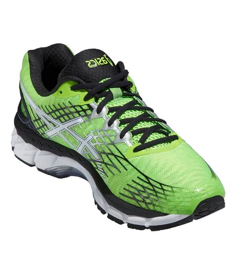 sport shoes asics asics green meshtextile sport shoes price in india buy