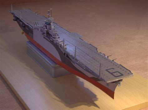 How To Make A Paper Aircraft Carrier - essex an aircraft carrier uss essex paper model kit ebay