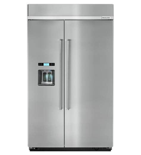 Kitchenaid Refrigerator Buildup Kitchenaid Built In Fridge Kbsd608ess