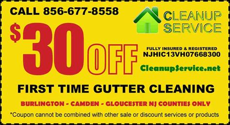 south jersey gutter cleaning gutters cleanup service nj