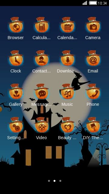 halloween themes apk halloween night free apk android app android freeware