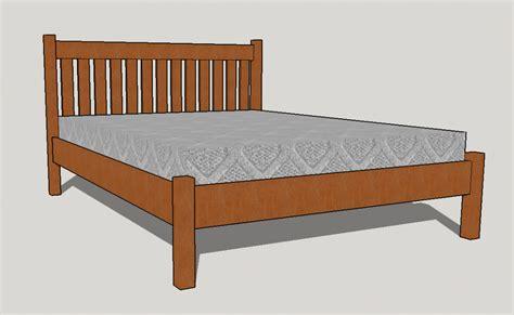 mission bed the mission bed boulder furniture arts