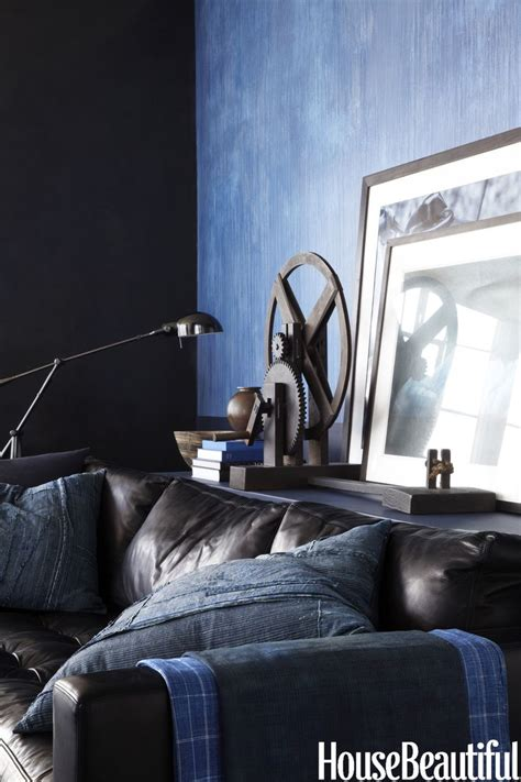 decorating with denim decoart blog trends home decor trend denim