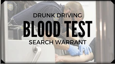 Detroit Warrant Search Dui Blood Test Search Warrant Michigan Learn More