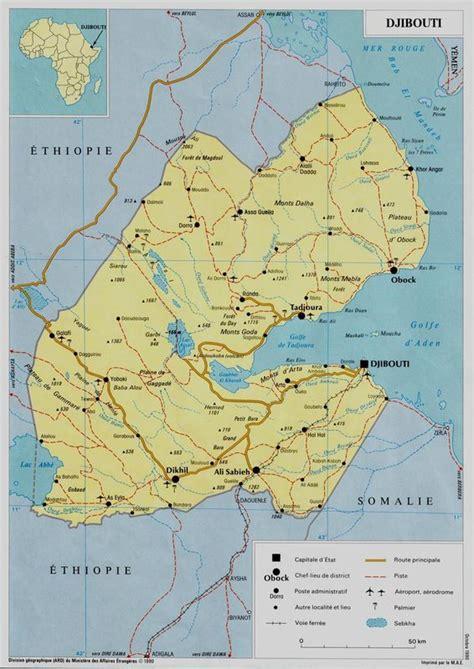 carte du pays les boutbout en terre djiboutienne