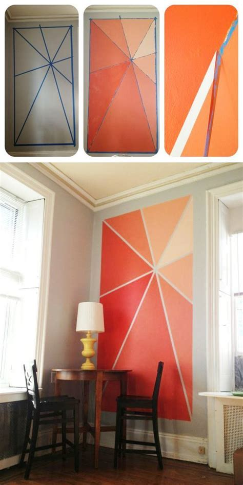 20 diy painting ideas for wall accent walls