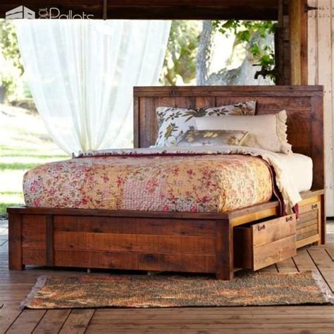 Creative Bed Frames 17 Best Ideas About Pallet Bed Frames On Diy