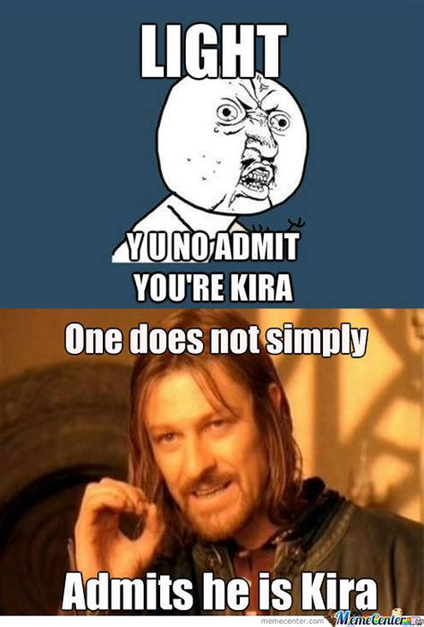 Kira Meme - rmx light is kira by benjamin lim 7 meme center