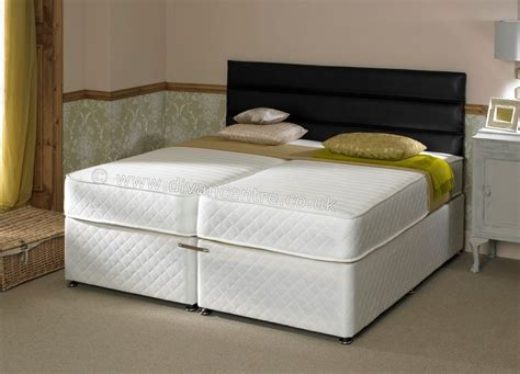 savoy 6ft zip link bed with 1000 pocket sprung memory