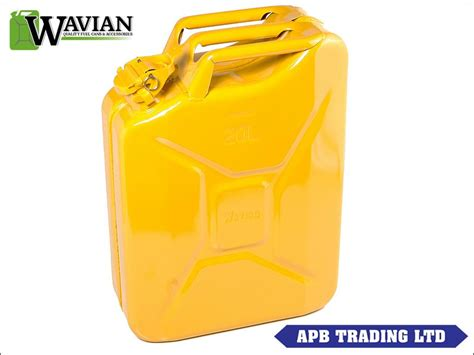 Expedition E6678m Green Yellow jerry can 20 litre green black yellow