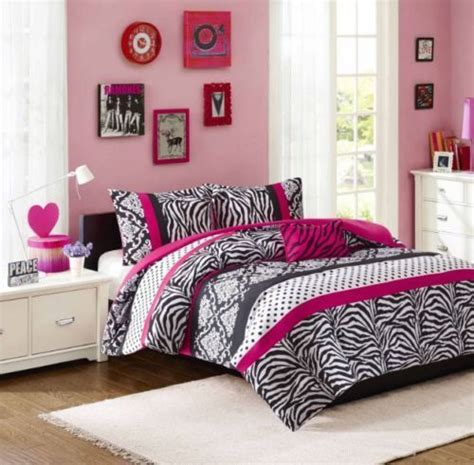 queen size comforter sets for teenagers girls comforter set full pink zebra reversible bedroom