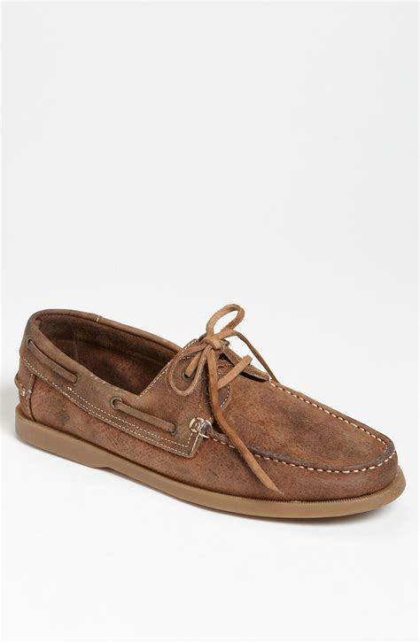 bed stu shoes sale bed stu uncle fred boat shoe in brown for men tan 10 year age lyst