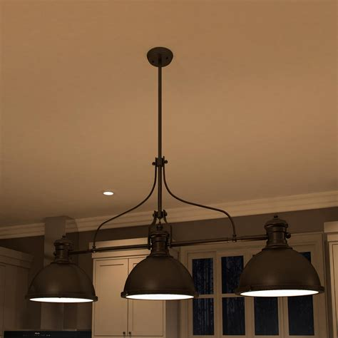 island lighting vonnlighting dorado 3 light kitchen island pendant