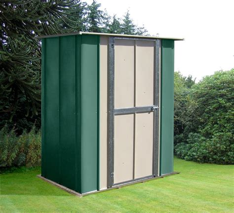 Metal Utility Sheds by Canberra 5ft Wide X 3ft Utility Metal Shed With Flat