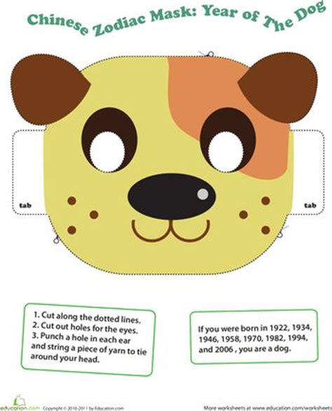 new year animal masks zodiac year of the kid animal masks and