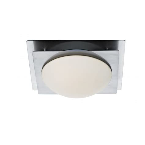 the lighting book zack satin chrome square flush low