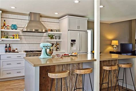how to create a modern look with breakfast bar stools breakfast bars that make a stylish statement